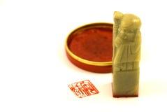 Guarnizione cinese Fotografie Stock