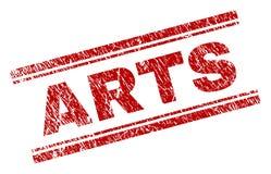 Guarnizione del bollo di ARTI strutturata lerciume illustrazione di stock
