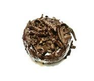 Guarnizione del cioccolato della ciambella Fotografie Stock Libere da Diritti