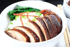 Guarnizione del riso dell'anatra di Pechino Fotografia Stock Libera da Diritti