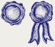 Guarnizione della cera royalty illustrazione gratis