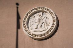 Guarnizione dello stato del New Mexico fotografie stock