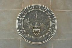 Guarnizione dello stato dell'Arkansas Immagini Stock