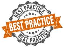 Guarnizione di best practice Immagine Stock