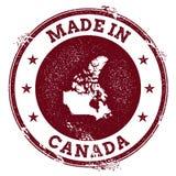 Guarnizione di vettore del Canada illustrazione di stock