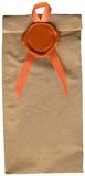Guarnizione e pacchetto della cera dell'annata, XXX formato di archivio Immagine Stock