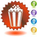 Guarnizione impostata - popcorn illustrazione di stock
