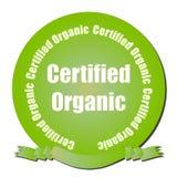 Guarnizione organica certificata immagine stock libera da diritti