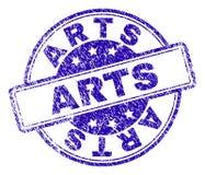 Guarnizione strutturata graffiata del bollo di ARTI royalty illustrazione gratis