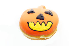 Guarnizioni di gomma piuma della zucca per Halloween Fotografia Stock Libera da Diritti