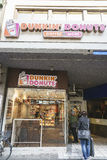 Guarnizioni di gomma piuma di Dunkin in Svizzera Immagini Stock
