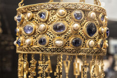 Guarrazar krona Fotografering för Bildbyråer