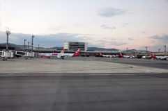 Guarulhos Internationale Luchthaven, Sao Paulo, Brazilië Royalty-vrije Stock Afbeeldingen