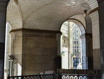 Guastavino Tile Ceiling - New York Municipal Building Royalty Free Stock Photo