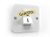 Guasto energetico Royalty Free Stock Images