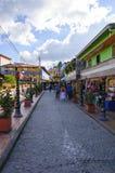 Guatape在麦德林,安蒂奥基亚省,哥伦比亚 库存图片