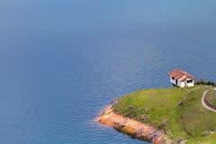 Guatape湖,哥伦比亚 库存照片