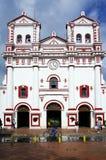 GUATAPE, ANTIOQUIA, COLOMBIE, LE 8 AOÛT 2018 : L'église de notre Madame de Carmen images libres de droits