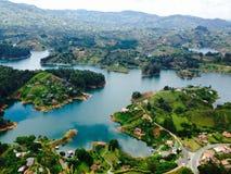 Guatape, Colombia fotos de archivo