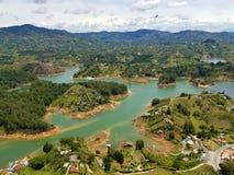 Guatape Kolumbien Lizenzfreie Stockfotos