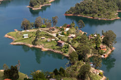 Guatape Lake, Colombia Stock Photography