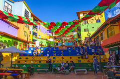 Guatape in Medellin, Antioquia, Colombia Royalty Free Stock Photos