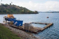 Guatape sjökust Fotografering för Bildbyråer