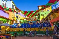 Guatape w Medellin, Antioquia, Kolumbia zdjęcia royalty free