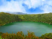 Guatavita för legend för lagun- eller sjöel-dorado arkivfoton