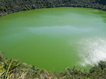Guatavita lake, Colombia Royalty Free Stock Image