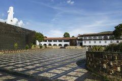 Guatavita Village royalty free stock image