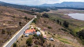 Guatavitass landscape royalty free stock image