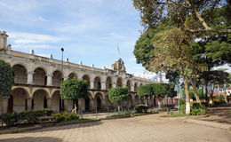 Guatema一般舰长之地位的总司令官的住所  库存照片
