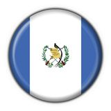 Guatemala button flag round shape Royalty Free Stock Photography