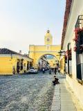 Guatemala de Antígua, Guatemala - 23 de maio de 2018: Um sel local maia fotografia de stock