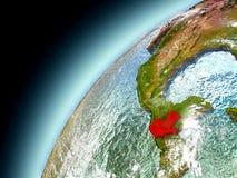Guatemala de la órbita de Earth modelo Fotografía de archivo