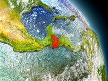 Guatemala del espacio Imagen de archivo libre de regalías