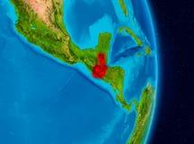 Guatemala do espaço Fotos de Stock Royalty Free
