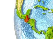 Guatemala en rojo Imagenes de archivo