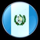Guatemala Flag Button Royalty Free Stock Photo