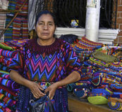 Guatemala-Frau lizenzfreie stockfotos