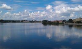 Guatemala. Isla de flores, lake in the day Stock Photos