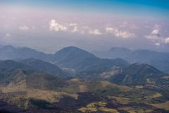 Guatemala Landscape with Mountain. Next to Pacaya Volcano. Stock Photography