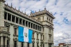 Guatemala nationell slott - Guatemala City, Guatemala Arkivbild