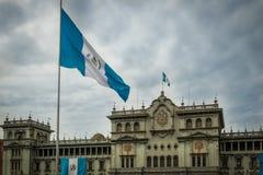 Guatemala nationell slott - Guatemala City, Guatemala Arkivbilder