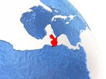 Guatemala på det eleganta jordklotet Arkivfoton