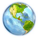 Guatemala på det isolerade jordklotet Arkivbilder