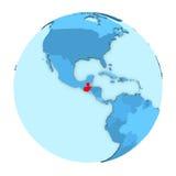 Guatemala på det isolerade jordklotet Fotografering för Bildbyråer