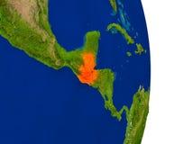 Guatemala på jord Royaltyfria Bilder
