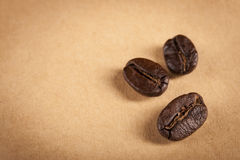 Guatemala Roasted Coffee Beans Royalty Free Stock Photos